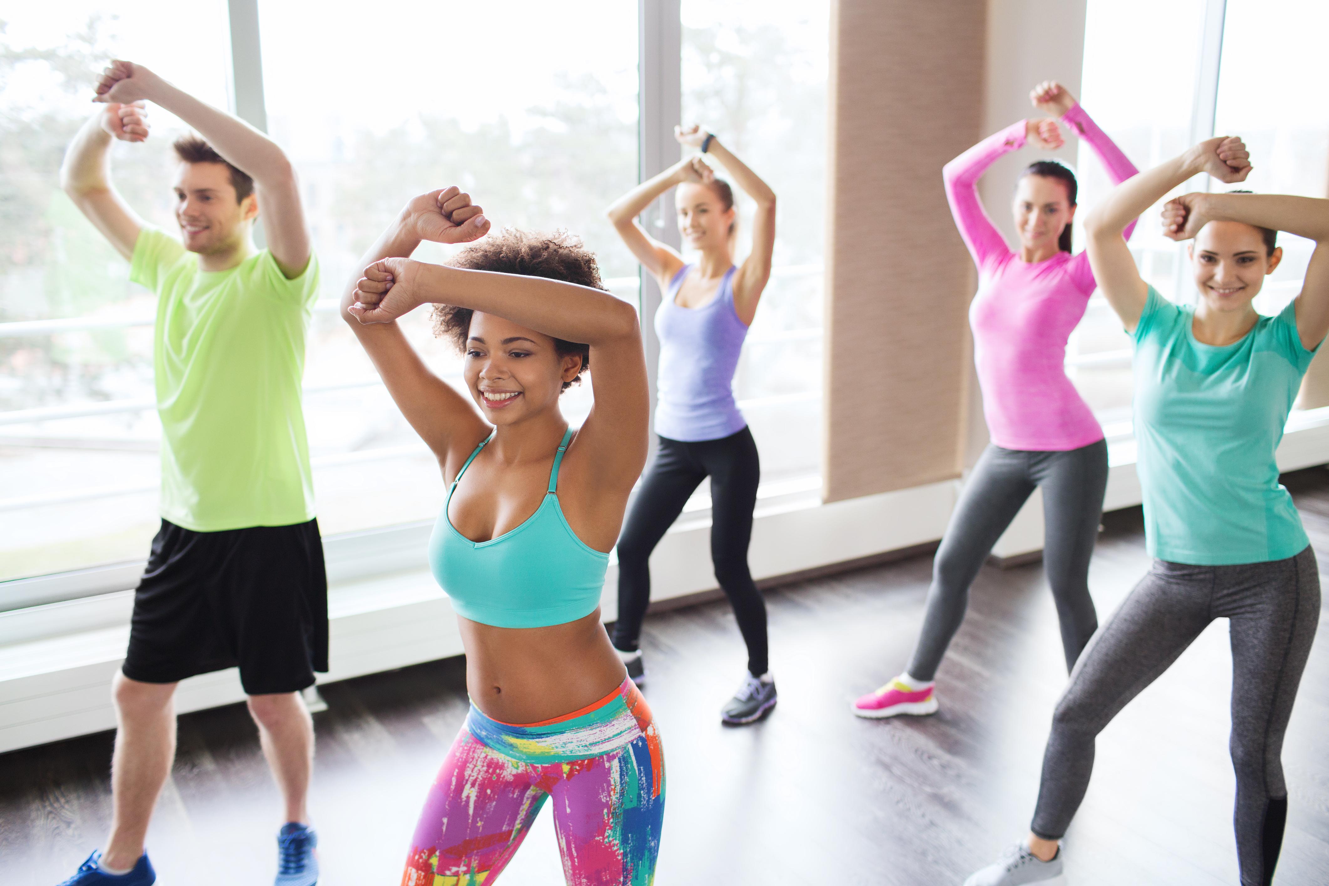 Fit dance cvičenia