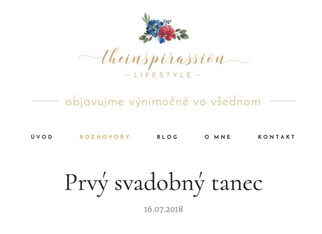 svadobný tanec Bratislava Petržalka
