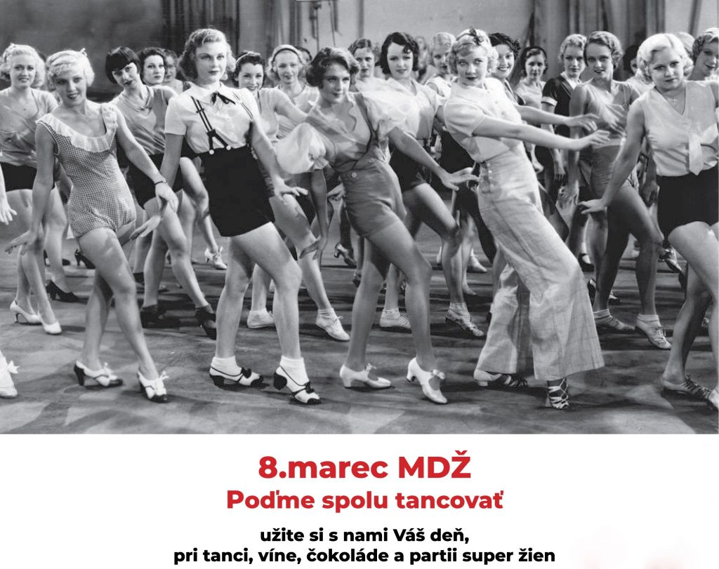 deň žien, ženy, tanec, čokoláda, petržalka, vino, bratislava