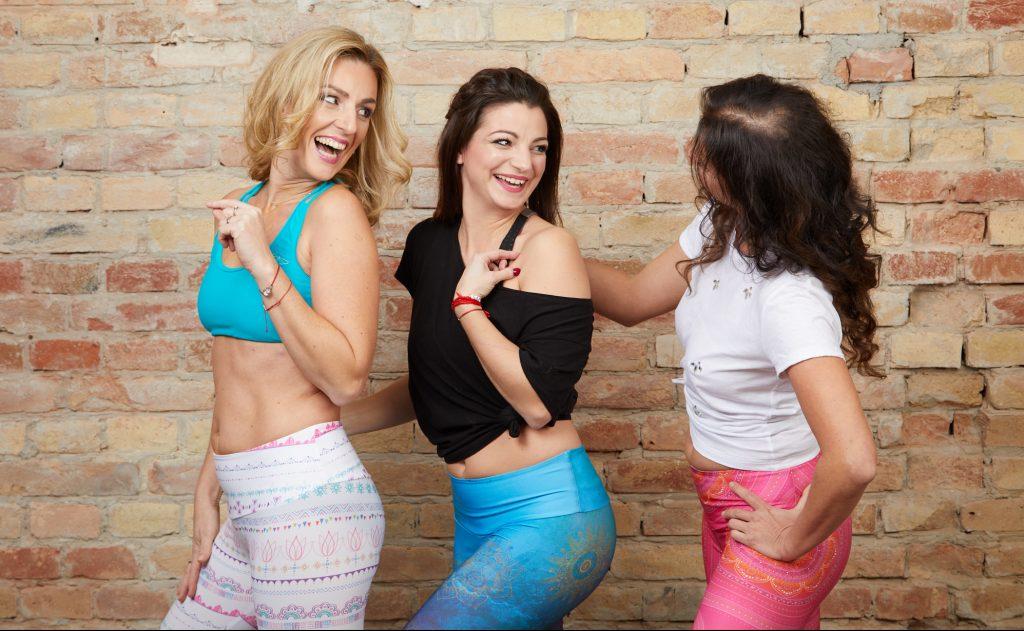 deň žien, akcie, akcia, tanec, cvičenie, tvárová joga, bratislava, petrzalka